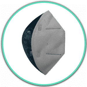 Icono mascarilla airnatech gris