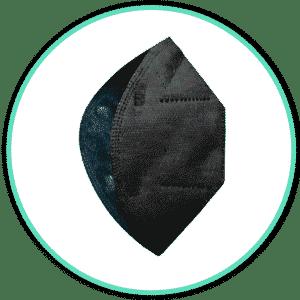 Icono mascarilla airnatech negro
