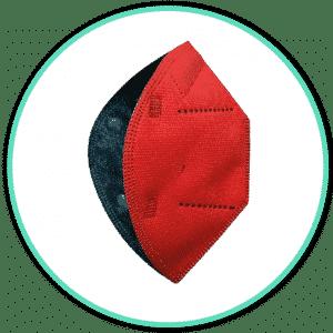 Icono mascarillas airnatech rojo